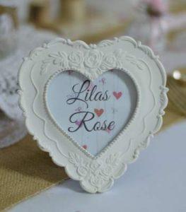 LOCATION CADRE coeur romantique