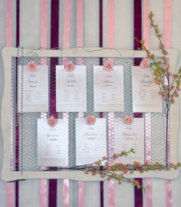 Plans de table - Plan de table mariage baroque ...