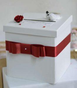 urne boite blanche en vente