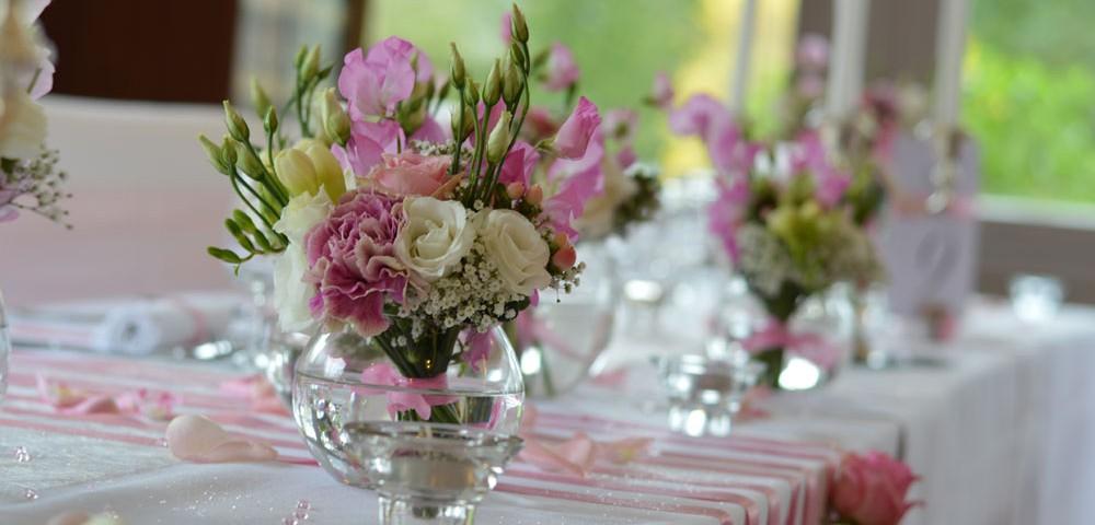 decoration mariage romantique rose pale nancy par griffe deco