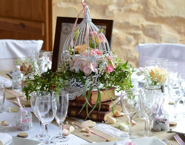 decoration mariage retro boheme nancy griffe deco