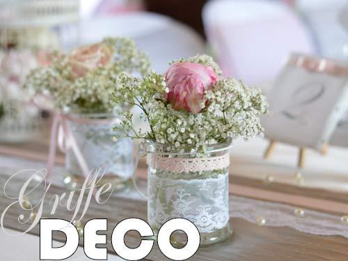 decoration mariage vintage par griffe deco