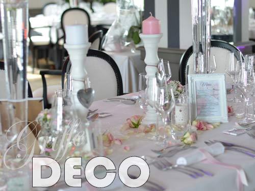 decoration mariage rose poudre par griffe deco lorraine