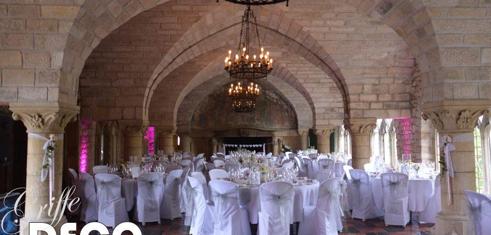 Mariage chic et dentelle, Château d'Hattonchâtel