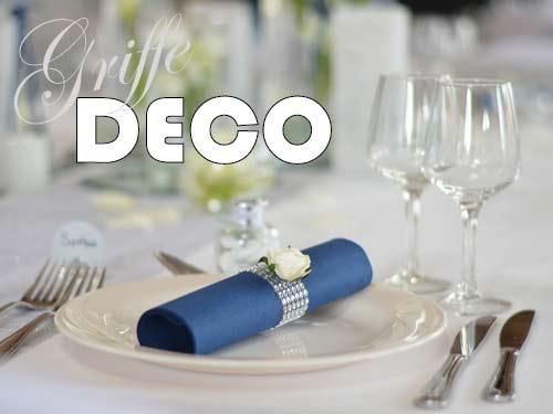 Decoration Mariage Argent Et Bleu Marine