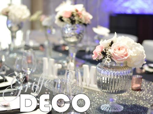 Décoration mariage baroque chic par griffe deco nancy