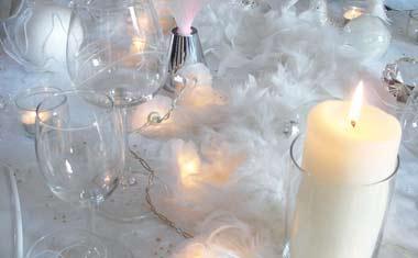 Tables et décors de Noël