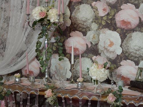 Mariage décoration vintage