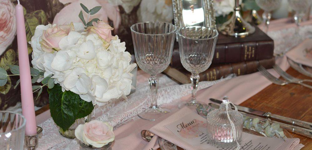 Décoration vintage salon du mariage nancy